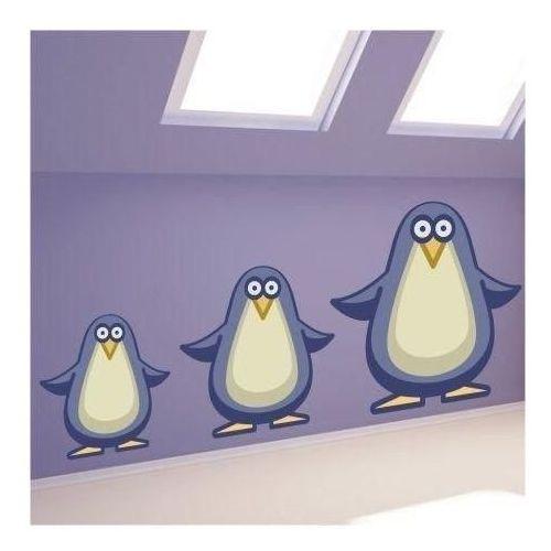 Wally - piękno dekoracji Naklejka pingwin 0966