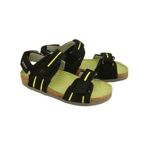 BARTEK 66681-W35 czarny, sandałki dziecięce, rozmiary 27-32