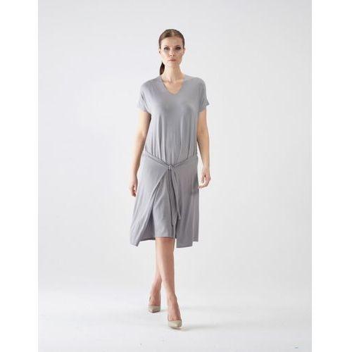 Sukienka su130 (Kolor: szary, Rozmiar: Uniwersalny)