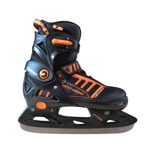 Łyżwy hokejowe regulowane AXER SPORT A2958 Ontario (rozmiar 29 - 32) + DARMOWY TRANSPORT!