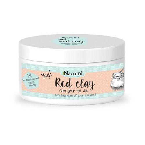 Nacomi - glinka czerwona, do cery naczynkowej 100 g