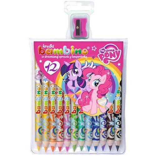 Kredki ołówkowe  jumbo z temperówką 12 kolorów my little pony wyprodukowany przez St-majewski