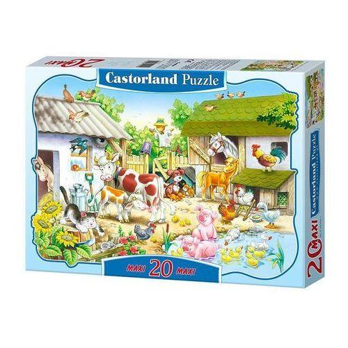 Castor Puzzle maxi konturowe: farm 20: c-02214