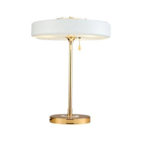 Lampa stołowa chicago 10300213 - biały, złoty marki Pallero