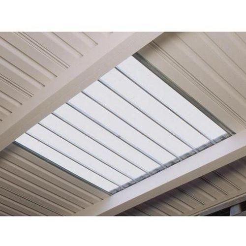 Dopłata za świetlik dachowy, pojedyncza, dł. x szer. 6000x1000 mm. światło dzien marki Lacont umwelttechnik