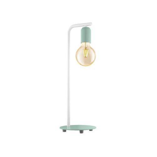 Eglo Lampa stołowa adri-p 49119 lampka 1x12w e27 zielona/biała