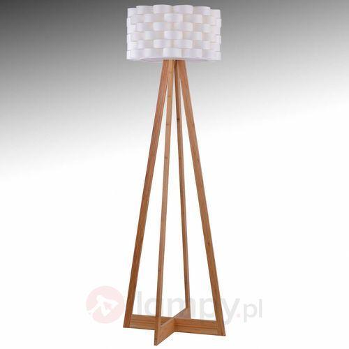 Leuchten direkt marek lampa stojąca buk, 1-punktowy - nowoczesny/design - obszar wewnętrzny - marek - czas dostawy: od 4-8 dni roboczych (4043689945787)