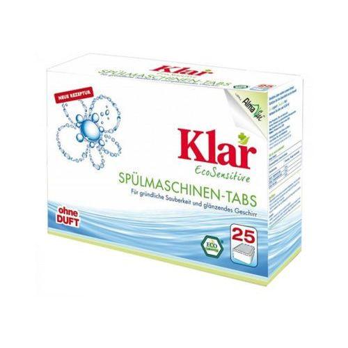25szt tabletki do zmywarek eco marki Klar