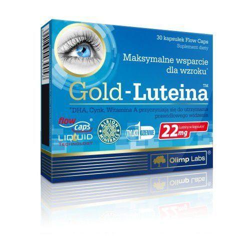 Gold-Luteina 30 kapsułek Olimp - kapsułki na wzmocnienie wzroku i słuchu