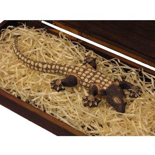 Wyspa java Nieujarzmiony prezent rzeźba jaszczurka światła średnia