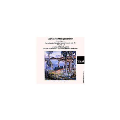 David monrad johansen: piano works / symphonic variations and fugue / pan marki Simax classics
