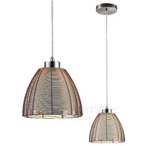 Lampa wisząca zwis oprawa Rabalux Jafar 1X60W E27 brązowa 2925, kolor Brązowy