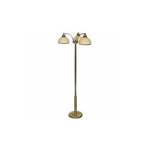 Lemir Olimp Lampa podłogowa 3 pł patyna (5907176571783)