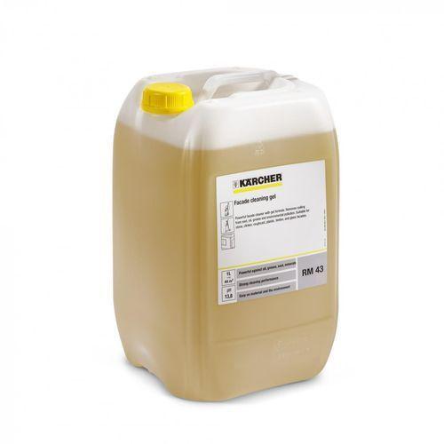 Karcher Rm 43 (20l, dozowanie 6%) żel do czyszczenia fasad, ✔sklep specjalistyczny ✔karta 0zł ✔pobranie 0zł ✔zwrot 30dni ✔raty 0% ✔gwarancja d2d ✔leasing ✔wejdź i kup najtaniej