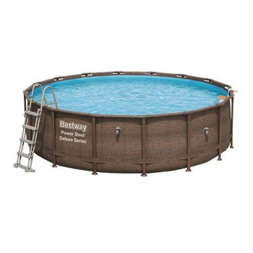 Basen z filtrem 4,27 x 1,07 m brązowy marki Bestway