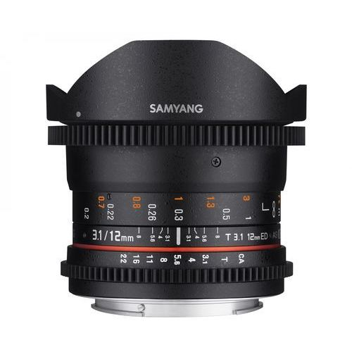 12mm t3.1 vdslr ed as ncs fisheye canon - produkt w magazynie - szybka wysyłka! marki Samyang