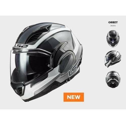 KASK MOTO LS2FF900 VALIANT II ORBIT JEANS nowość 2021 roku, AK509002008