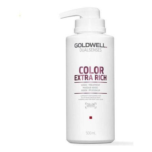 Goldwell color extra rich 60 sek, balsam kuracja do włosów farbowanych 500ml