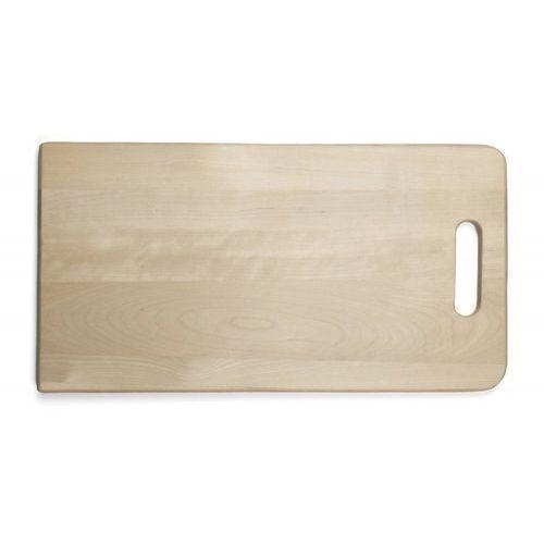 Deska drewniana do krojenia z uchwytem, wymiary 45x24x2,1 cm, EXXENT 78522