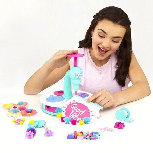 Pom pom wow stylowe studio 48547 | 75 pomponów, koraliki, klipsy, maszyna... marki Tm toys