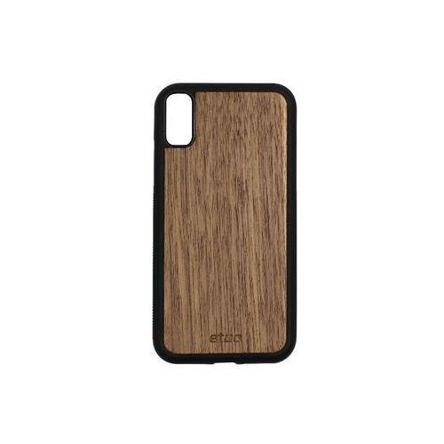 Apple iPhone XR - etui na telefon Wood Case - orzech amerykański, ETAP784WOOD00O000