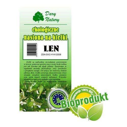 Ekologiczne nasiona na kiełki - Len 30g - Dary Natury, 002271. Najniższe ceny, najlepsze promocje w sklepach, opinie.