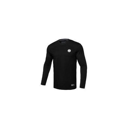 Koszulka z długim rękawem Pit Bull Small Logo'19 - Czarna (239001.9000), 239001.9000
