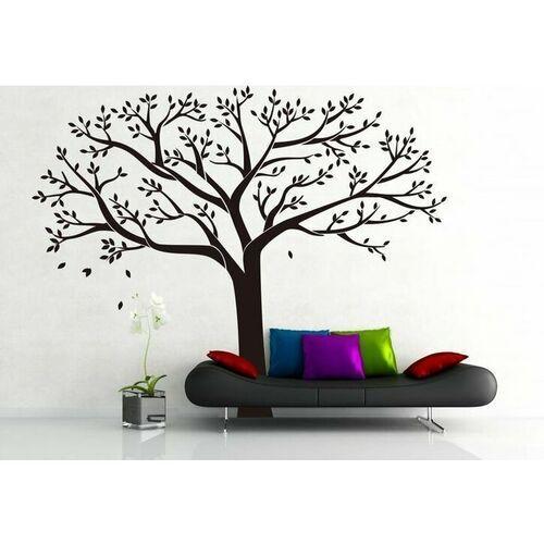4-home Naklejka dekoracyjna xxl czarne drzewo rodzinne