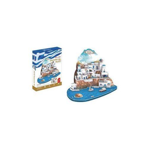 Cubicfun Puzzle 3d santorini duży zestaw
