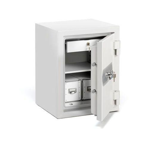 Sejf ognioodporny SHIELD, zamek na klucz, 640x490x465 mm, 45 L, 12823