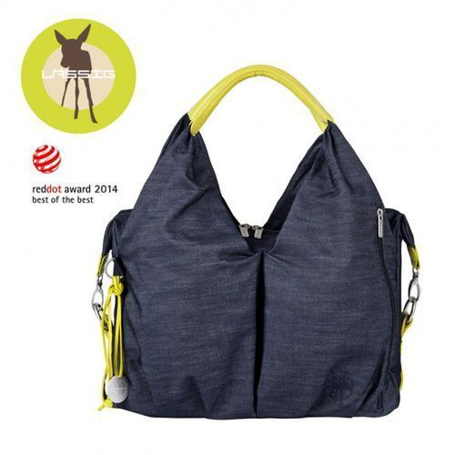 green label torba z akcesoriami neckline denim blue marki Lassig