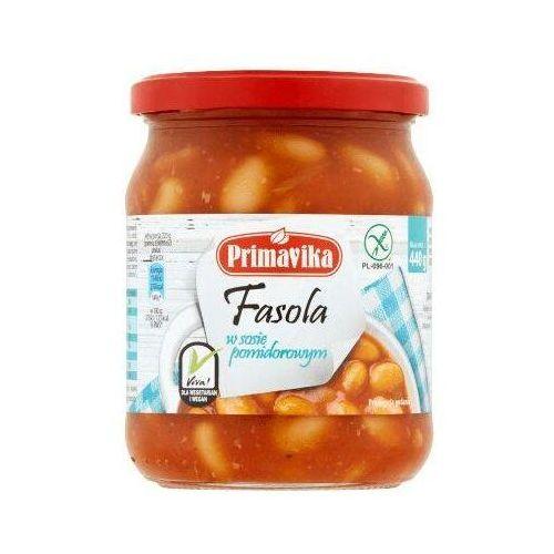 Primavika Fasola w sosie pomidorowym 440 g