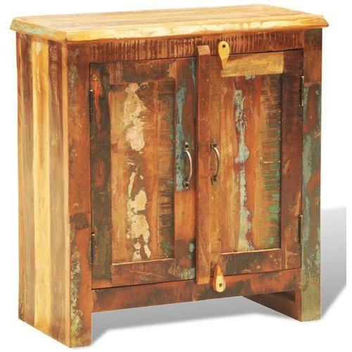 vidaXL Dwudrzwiowa szafka z drewna rozbiórkowego w antycznym stylu (8718475881636)