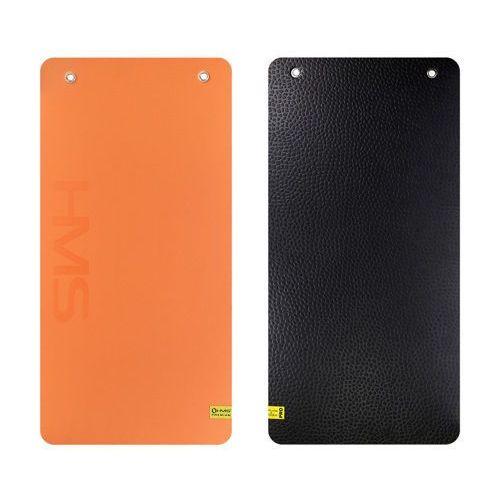 Hms mfk01 premium - 17-44-272 - mata fitness klubowa z otwarami - pomarańczowo-czarna