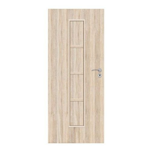 Drzwi pełne Olga 60 lewe dąb sonoma, SOLGADS000002