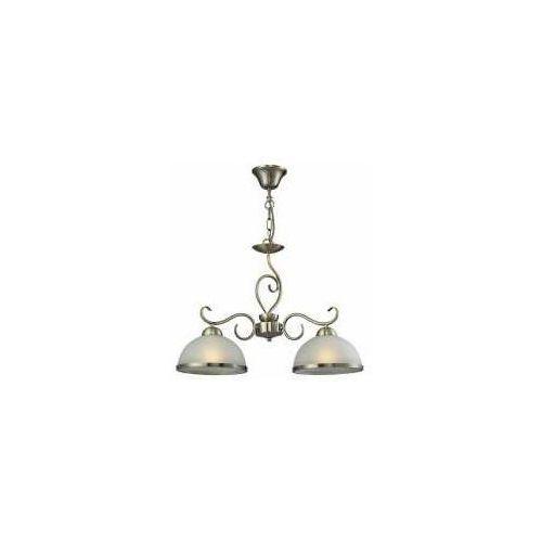 Reality Lampa wisząca zwis lindgard 2x60w e27 patyna 108702-04