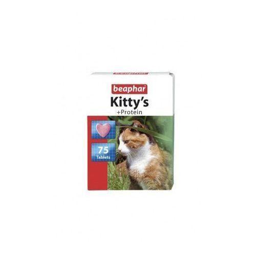 Beaphar Kitty's protein 75szt. - tabletki witaminowe z proteinami dla kotów