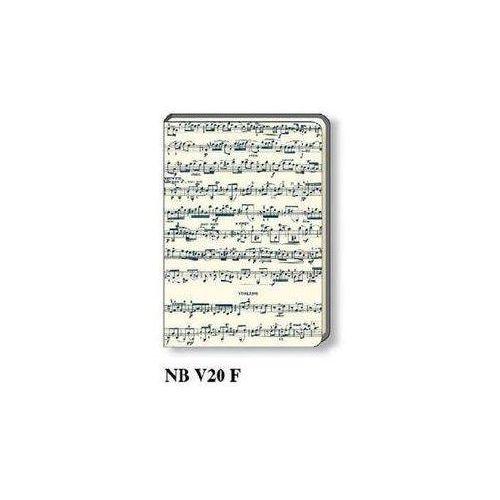 Notatnik ozdobny a5 96 kartek nb v20f marki Rossi