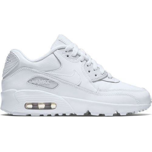 Nike Buty air max 90 leather gs - 833412-100