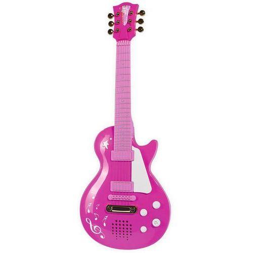 Simba 683-0693 różowa gitara elektryczna rockowa dla dziewczynki