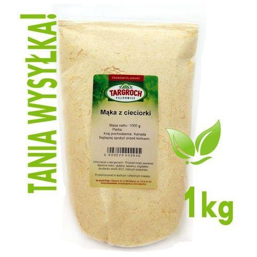 Mąka z cieciorki, ciecierzycy 1 kg - targroch wyprodukowany przez Tar-groch-fil sp. j.
