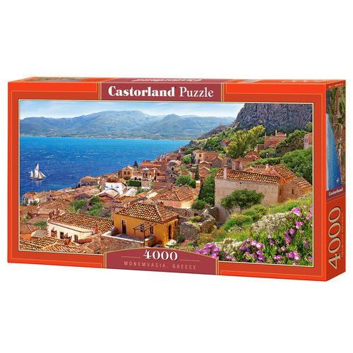 Puzzle 4000 elementów. Monemvasia Greece, 5904438400140_827378_001