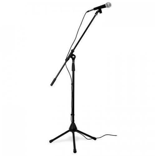 Skytronic zestaw mikrofon statyw trójnożny torba przewód xlr elast. (8715693068757)