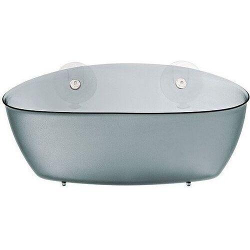 Półka prysznicowa SPLASH na przyssawki - kolor antracytowy, KOZIOL, B001TUL92I