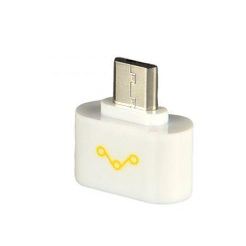 Adapter MicroUSB WHITENERGY 10289 Adapter MicroUSB 2.0 (M) USB 2.0 (F) biały