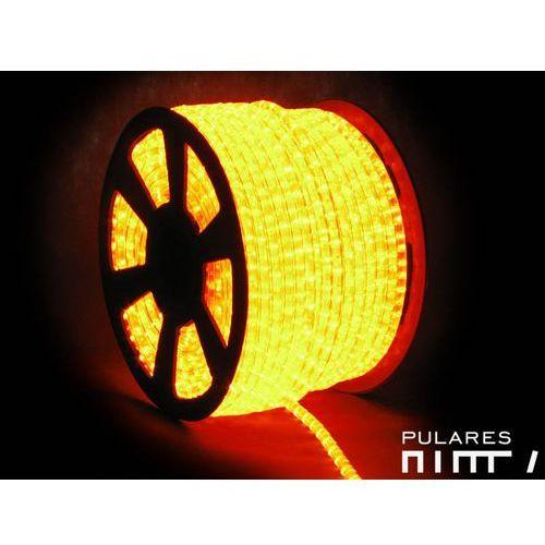 Wąż świetlny żarówkowy 13 mm 230V orange