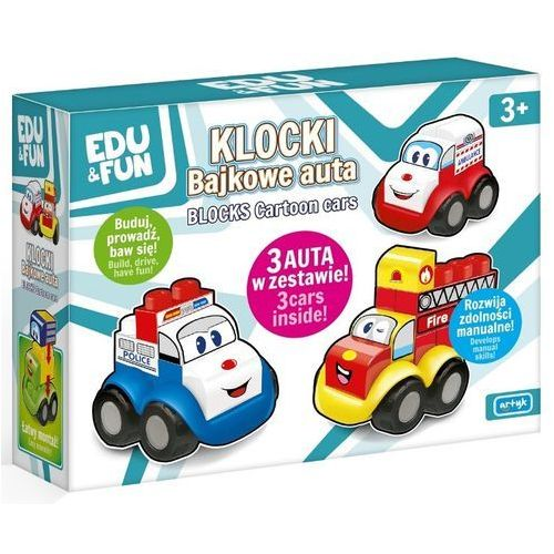 Edu&Fun Auto-Klocki