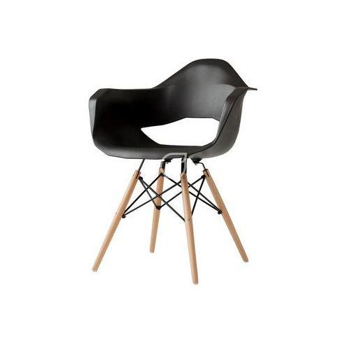 Krzesło match arms wood czarny by marki Customform