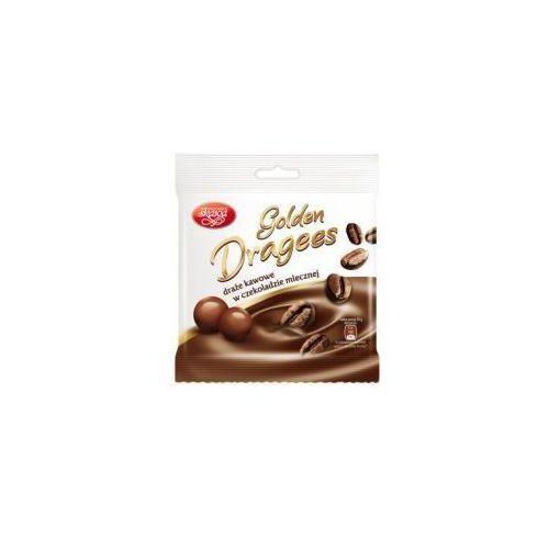 Draże Golden Dragees kawowe w czekoladzie mlecznej 100 g Skawa