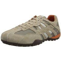uomo snake k męskie sneakersy - beżowy - 43 eu, Geox, 39-47